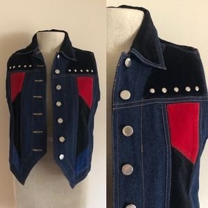 VNTG Studded Vest